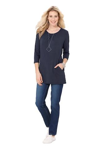 Classic Basics Longshirt in leichter A - Form kaufen