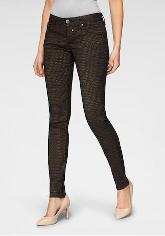 Herrlicher Slim-fit-Jeans »TOUCH SLIM«, im trendigem Karo-Design kaufen