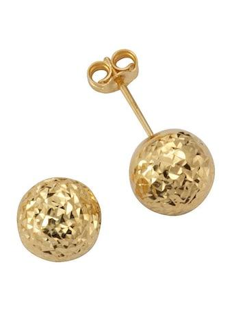 Firetti Paar Ohrstecker »rund, diamantiert« kaufen