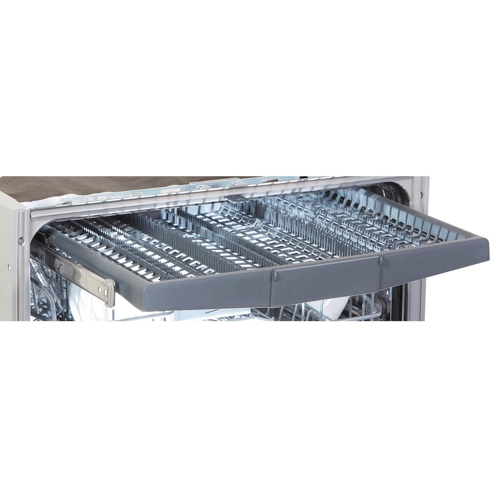 BEKO teilintegrierbarer Geschirrspüler »DSN28431X«, DSN28431X, 14 Maßgedecke, mit SteamGloss