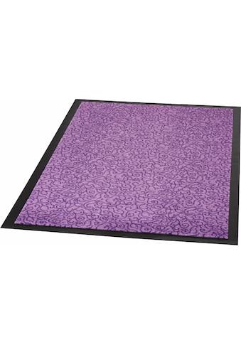 Zala Living Fußmatte »Smart«, rechteckig, 7 mm Höhe, Fussabstreifer, Fussabtreter, Schmutzfangläufer, Schmutzfangmatte, Schmutzfangteppich, Schmutzmatte, Türmatte, Türvorleger, rutschhemmend beschichtet kaufen