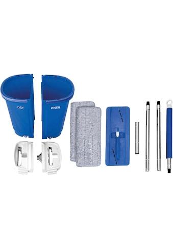 MediaShop Bodenwischer-Set »Livington Touchless Mop XXL«, inkl. Doppeleimer (7 Liter) und Mikrofaserpad kaufen