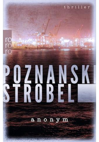 Buch »Anonym / Ursula Poznanski, Arno Strobel« kaufen