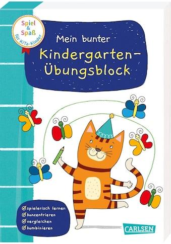 Buch »Spiel+Spaß für KiTa-Kinder: Mein bunter Kindergarten-Übungsblock / Anna Himmel, Mascha Greune« kaufen