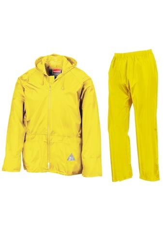Result Regenjacke »Herren Regenanzug bestehend aus und Regenhose, wasserdicht« kaufen