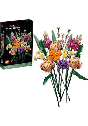 LEGO® Konstruktionsspielsteine »Blumenstrauß (10280), LEGO® Creator Expert«, (756... kaufen