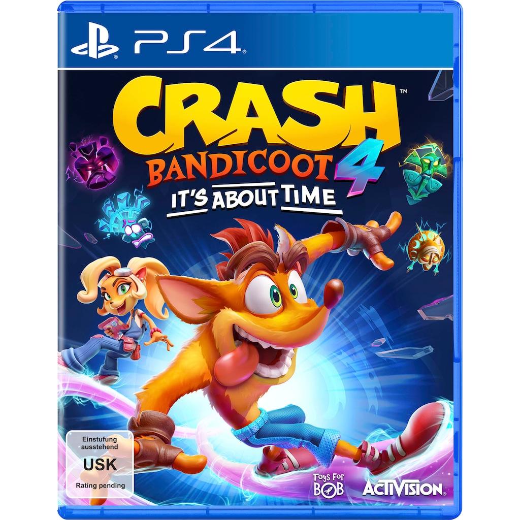 Activision Spiel »Crash Bandicoot 4 - It´s About Time«, PlayStation 4