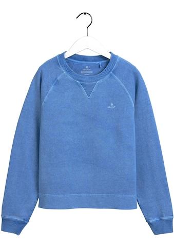Gant Sweatshirt, in modischer ausgewaschener Optik kaufen
