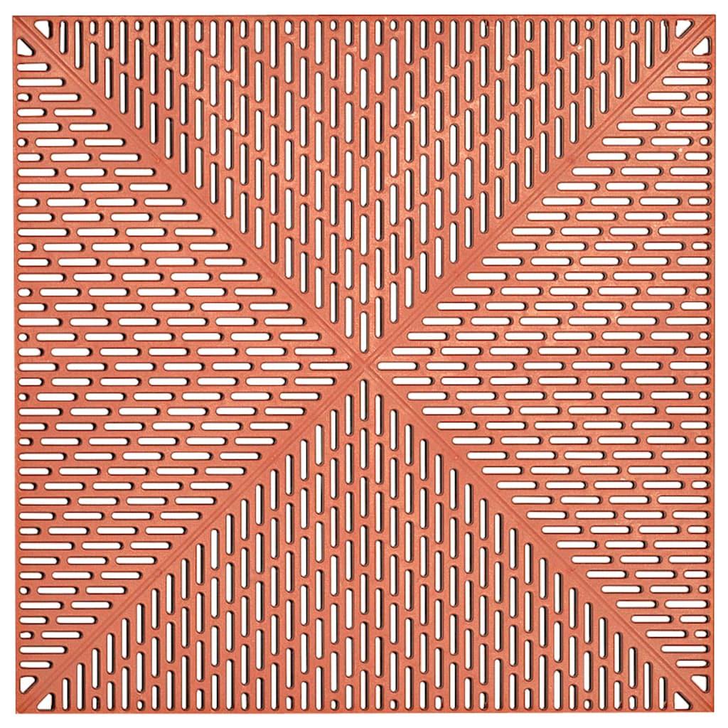 Bergo Flooring Terrassenplatten »Unique Terra«, Kunststofffliesen, einfach ineinanderstecken, 2 m²