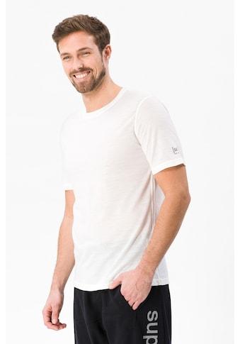 SUPER.NATURAL T-Shirt »M BASE TEE 140«, atmungsaktiver Merino-Materialmix kaufen