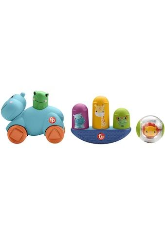 Fisher-Price® Greifspielzeug »Bewegung Motorik-Spielzeug Geschenkset«, mit 3... kaufen