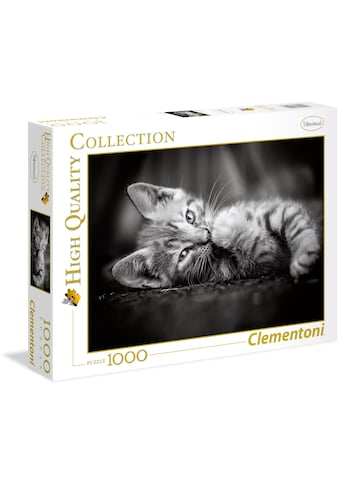Clementoni® Puzzle »High Quality Collection - Kätzchen«, Made in Europe kaufen
