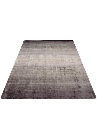 Home affaire Teppich »Katalin«, rechteckig, 10 mm Höhe, exclusiver Teppich in Seidenoptik, Wohnzimmer kaufen
