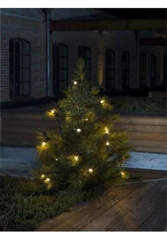 KONSTSMIDE Baumkette, Topbirnen mit gedrehter Spitze, One String kaufen