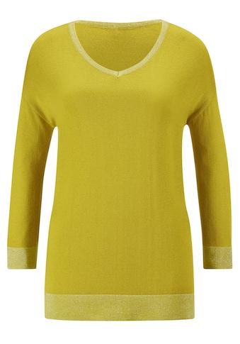 creation L V-Ausschnitt-Pullover »Pullover« kaufen