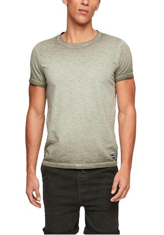 Q/S designed by T-Shirt, mit Farbverlauf kaufen
