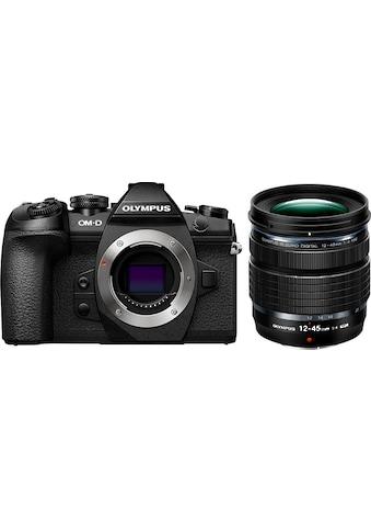 Olympus Systemkamera »E-M1II Body + M.Zuiko ED 12-45mm PRO«, Flash FL-LM3, BLH-1,... kaufen