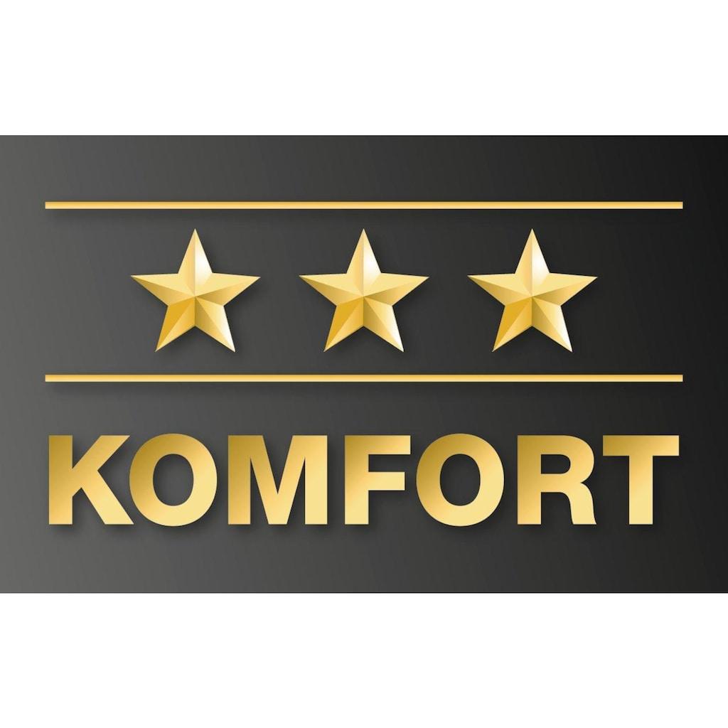 f.a.n. Frankenstolz Komfortschaummatratze »Komfortschaummatratze »7 Zonen«, 90/190, 16 cm hoch, f.a.n.«, (1 St.)