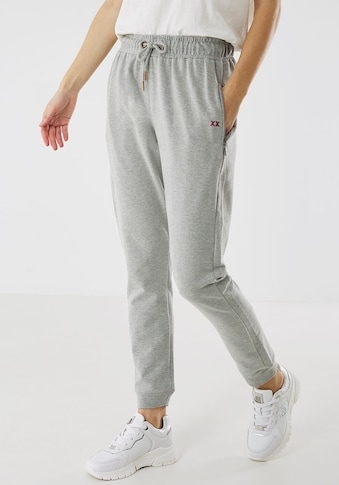 Mexx Jogger Pants, mit Zipper-Taschen und Logo-Stickerei kaufen