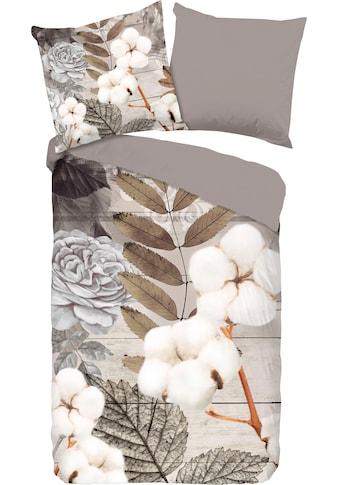 good morning Wendebettwäsche »Puck«, mit floralem Print kaufen
