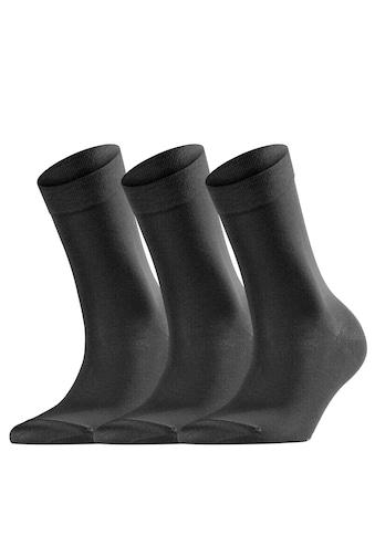 FALKE Socken »Cotton Touch 3-Pack«, (3 Paar), mit sehr feinem Maschenbild kaufen