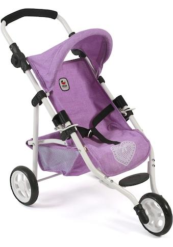 CHIC2000 Puppenbuggy »Jogging-Buggy Lola, flieder«, mit klappbarem Verdeck kaufen