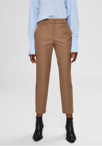 SELECTED FEMME Anzughose, in stylisher Cropped-Länge kaufen