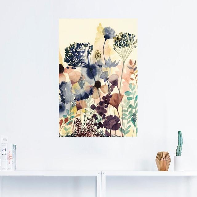 Artland Wandbild »Sonnengetrocknete Blüten II«