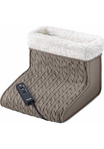 BEURER Elektrofußwärmer »FWM 45«, Wärme und Massage sind getrennt einsetzbar kaufen