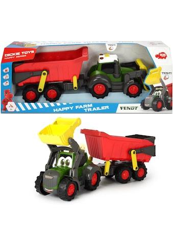 Dickie Toys Spielzeug-Traktor »Happy Series Farm Trailer Fendt«, mit Licht und Sound kaufen