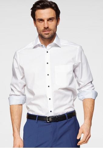 OLYMP Businesshemd »Luxor modern fit«, mit kontrastfarbenen Details kaufen