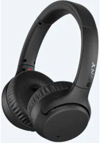 Sony Kopfhörer »WH-XB700 Bluetooth«, Bluetooth-NFC, Freisprechfunktion, Headset mit Mikrofon, Amazon Alexa & Google Assistant, Gestensteuerung kaufen
