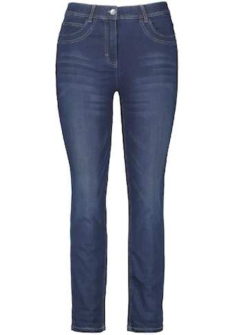 Samoon Slim-fit-Jeans, Mid Waist kaufen