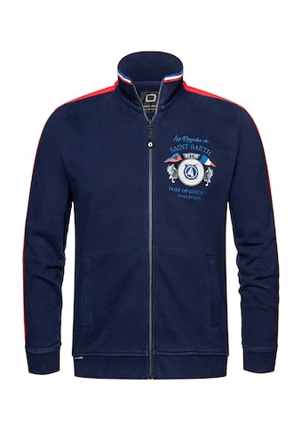 CODE-ZERO Sweatjacke »Colombier Zip Sweater«, Reißverschluss kaufen