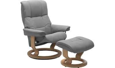 Stressless® Relaxsessel »Mayfair«, mit Hocker, mit Classic Base, Größe S, M & L, Gestell Eiche kaufen