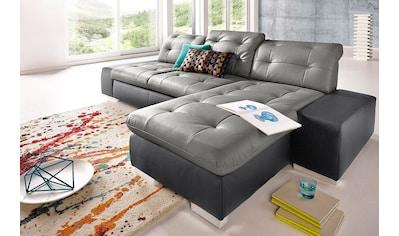 sit&more Ecksofa, wahlweise XL oder XXL und mit Bettfunktion kaufen
