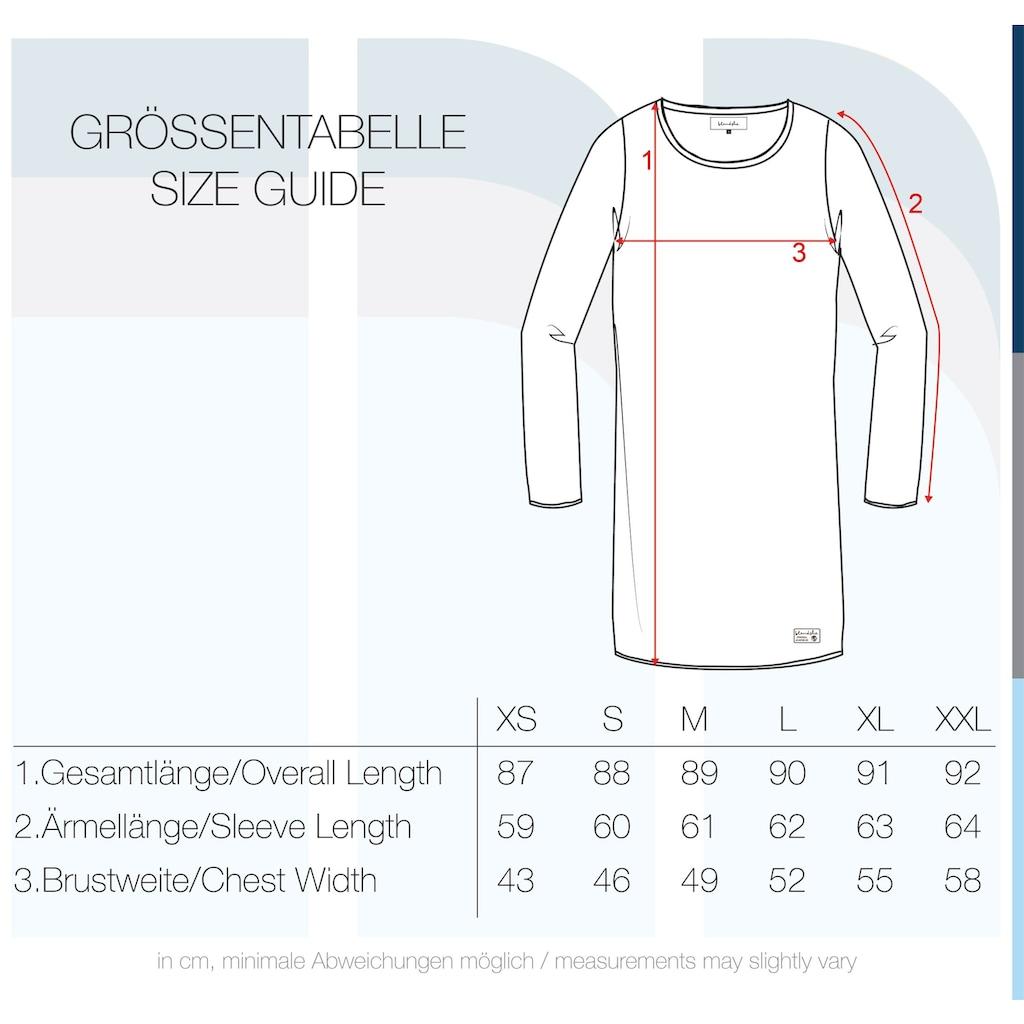 OXMO Strickkleid »Danielle«, Kleid mit Rollkanten