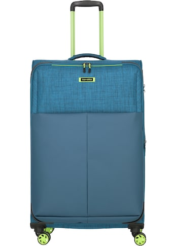 travelite Weichgepäck-Trolley »Proof L, 78 cm«, 4 Rollen, mit Dehnfalte kaufen