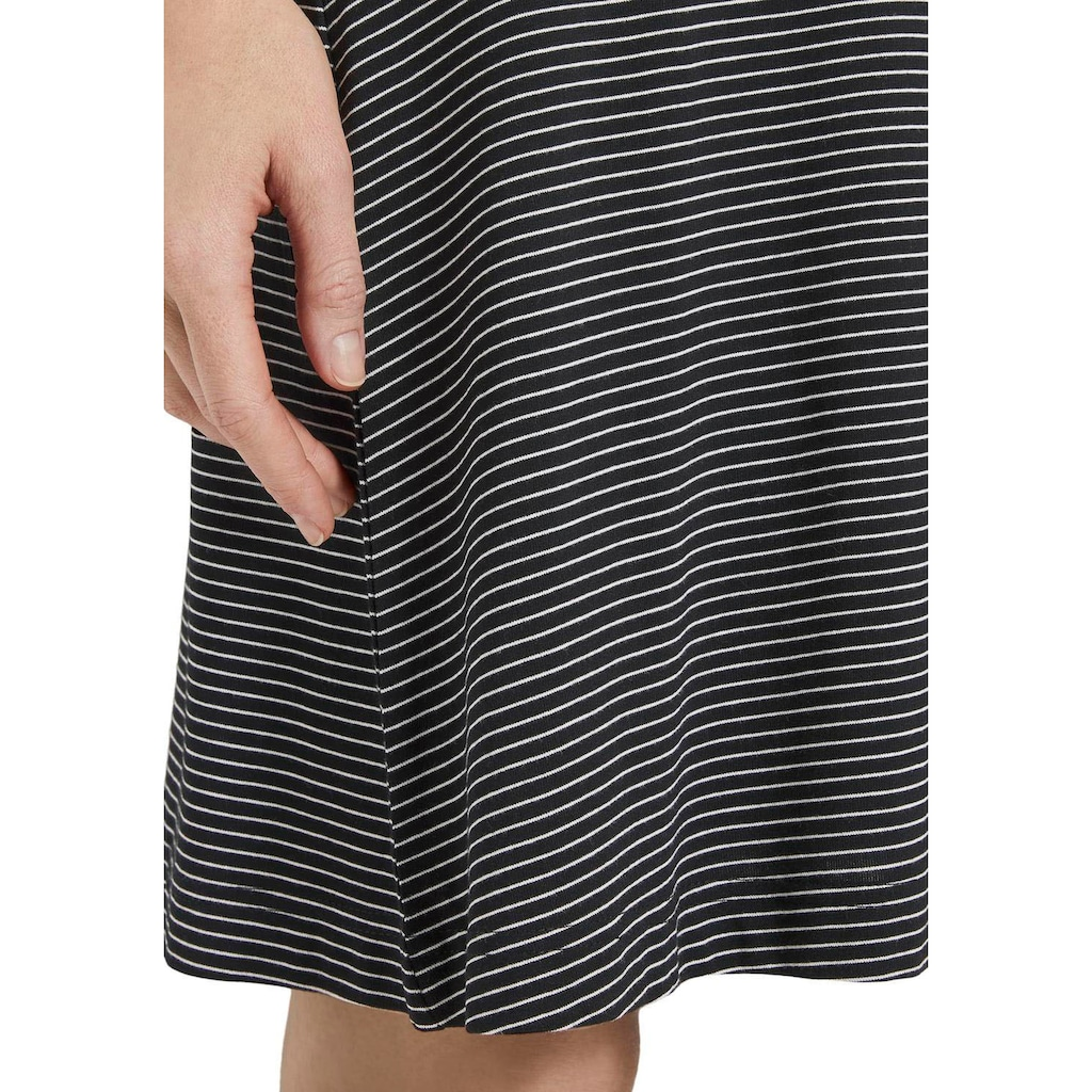 TOM TAILOR Jerseykleid, mit Wickel-Effekt