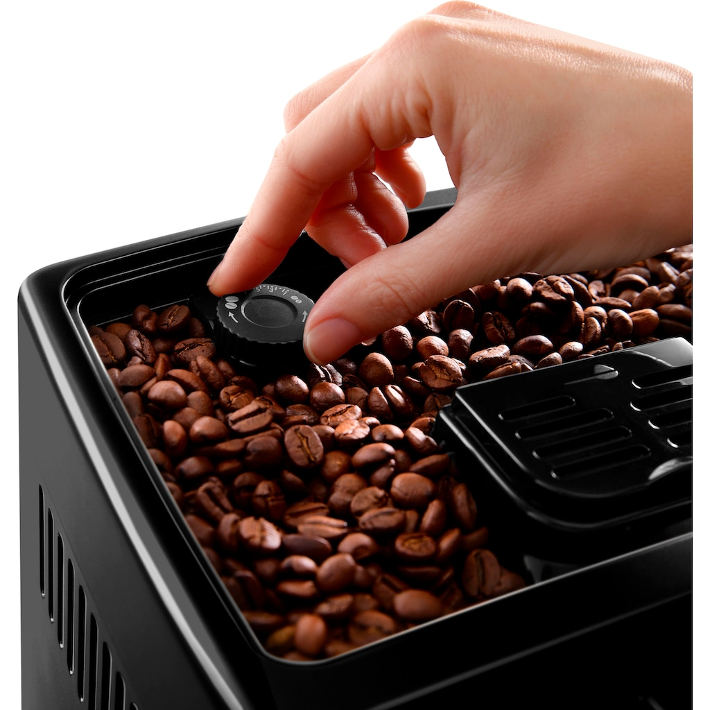 De'Longhi Kaffeevollautomat »Dinamica ECAM 356.57.B«, mit 4 Direktwahltasten, Kaffeekannenfunktion