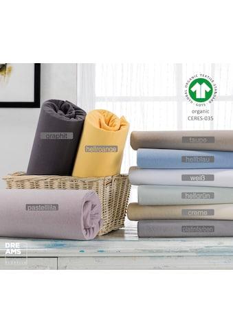 Florella Spannbettlaken »mit Rundumgummi OJ50.003, Matratzenhöhe bis 25 cm, Organic Cotton« kaufen