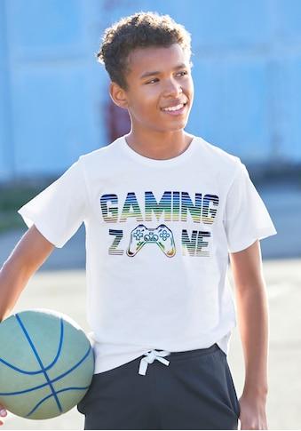 KIDSWORLD T-Shirt »GAMING ZONE« kaufen