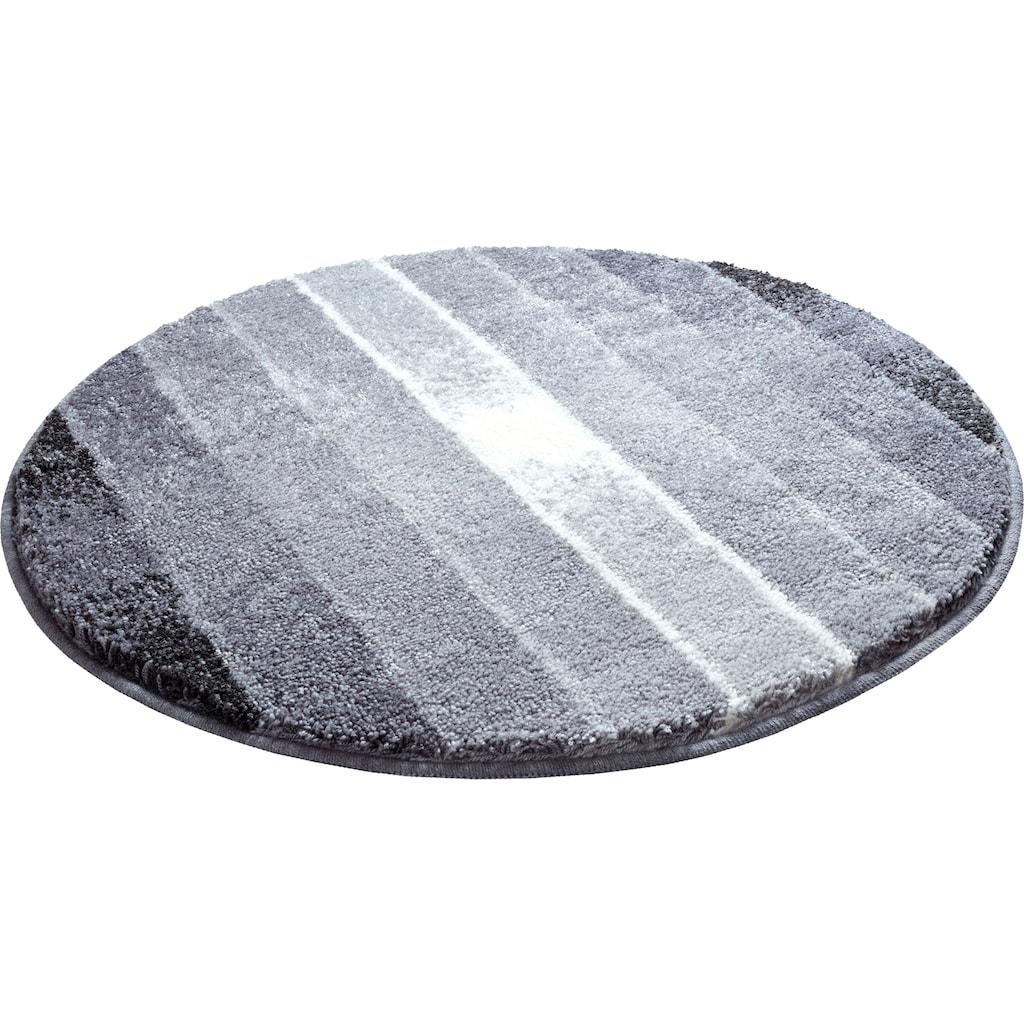 GRUND exklusiv Badematte »Garis«, Höhe 20 mm, rutschhemmend beschichtet, fußbodenheizungsgeeignet