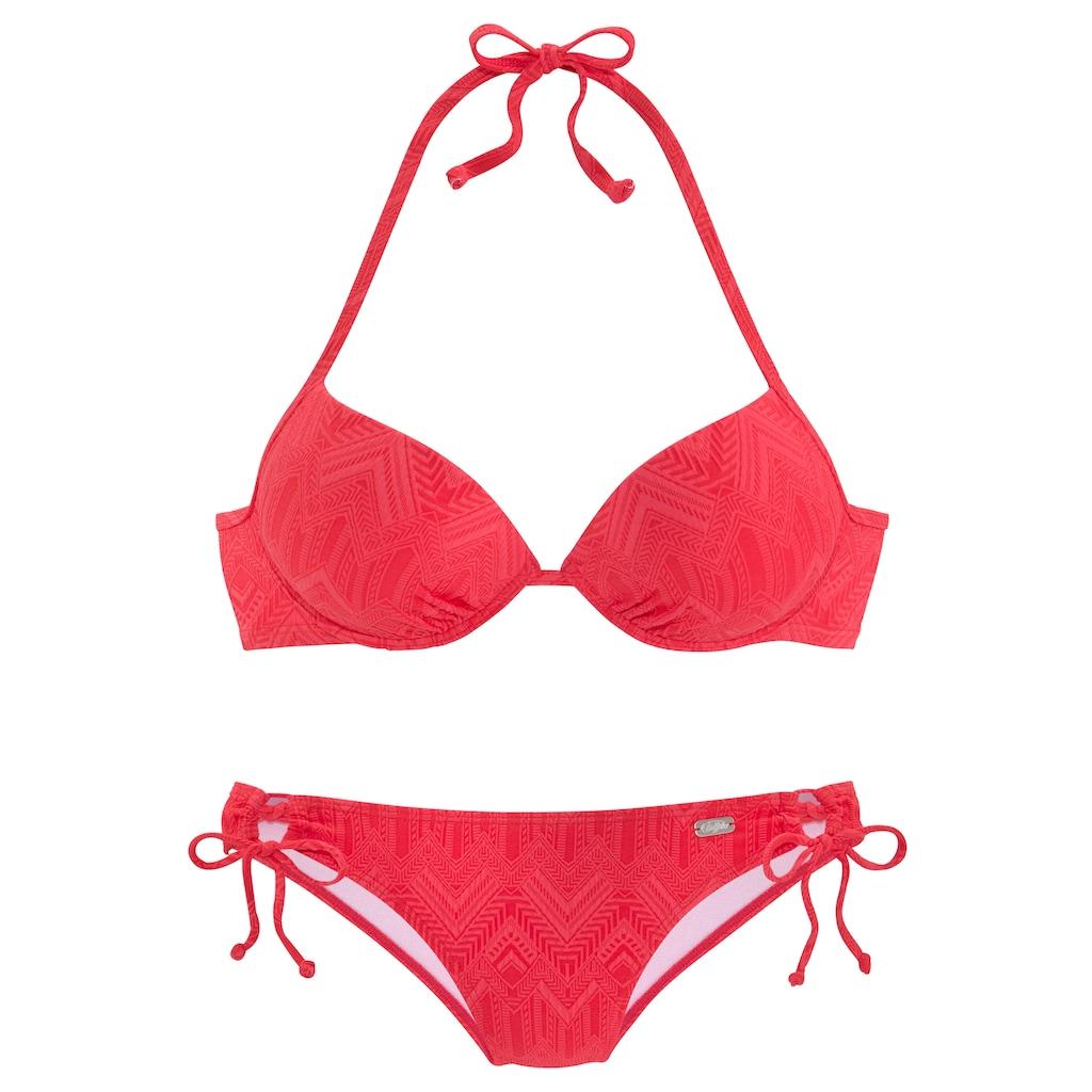 Buffalo Push-Up-Bikini, mit modischer Struktur