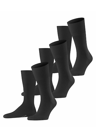 FALKE Socken »Airport 3-Pack«, (3 Paar), mit Schurwolle kaufen