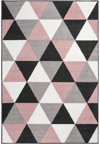 Andiamo Teppich »Salamanca«, rechteckig, 7 mm Höhe, Kurzflor, Wohnzimmer kaufen