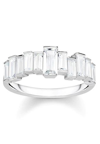 THOMAS SABO Silberring »Weiße Steine, Baguette - Schliff, TR2269 - 051 - 14 - 50, 52, 54, 56, 58, 60« kaufen