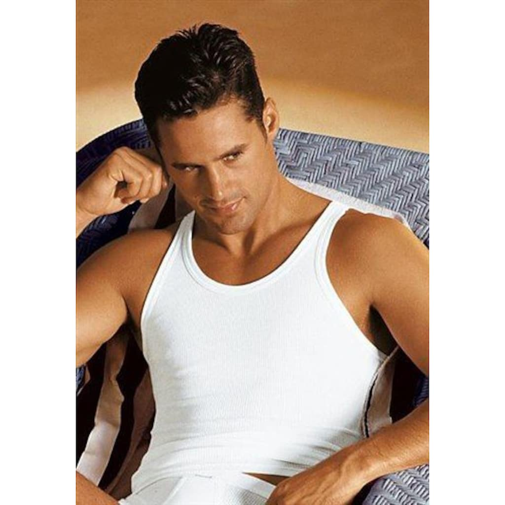 Schiesser Unterhemd, schlichtes Basic-Unterhemd in Top-Markenqualität