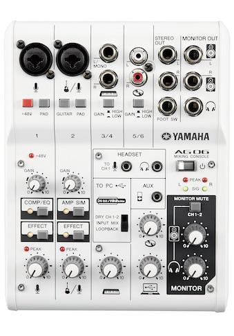 Yamaha Mischpult »AG06«, mit 6 Kanälen kaufen