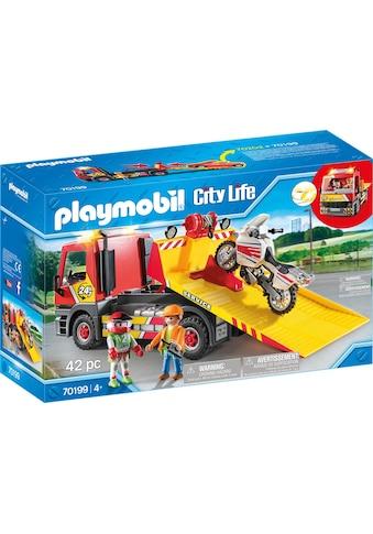 "Playmobil® Konstruktions - Spielset ""Abschleppdienst (70199), City Life"", Kunststoff, (42 - tlg.) kaufen"